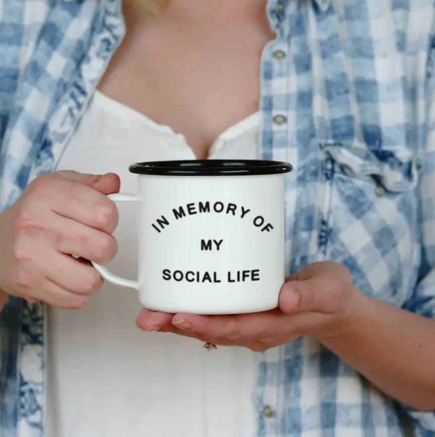 In Memory Enamel Mug || 16OZ