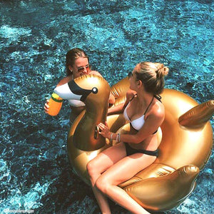 Luxe Float Swan (Gold)