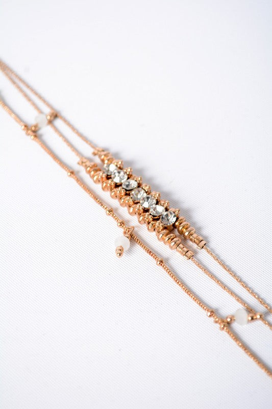 Set The Bar Layered Necklace