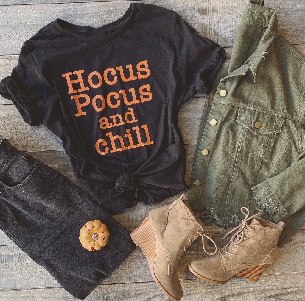Hocus Pocus and Chill Tee