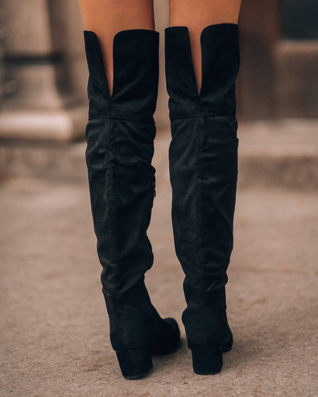 Dylan OTK Boots (Black) PRE-ORDER // ETA December 13th