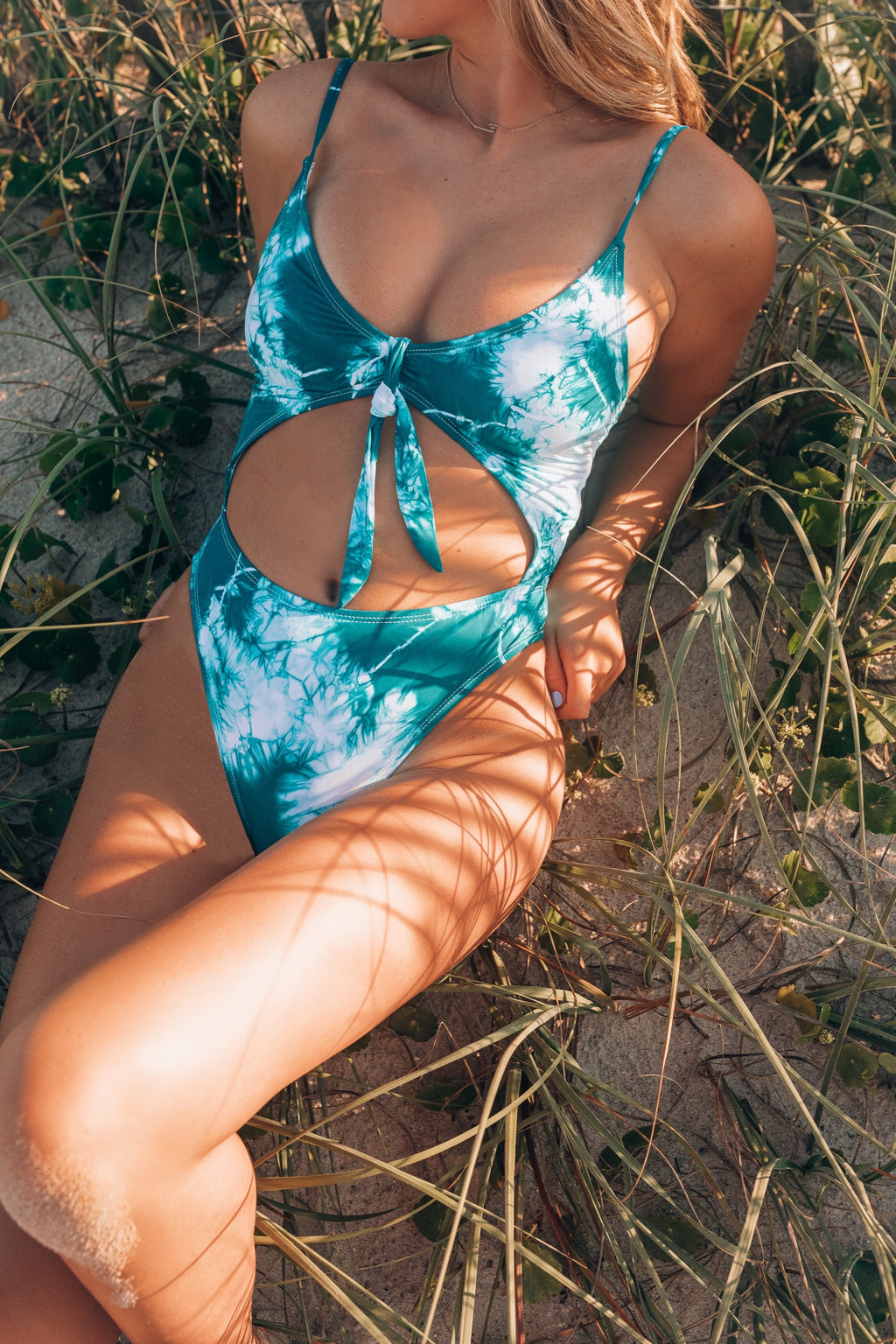 Deep Blue Sea Tie Dye Swimsuit