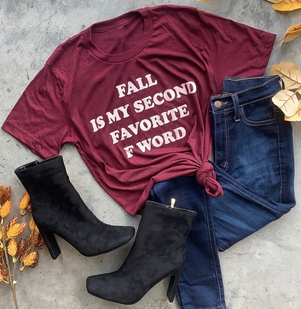 Second Favorite F Word Tee