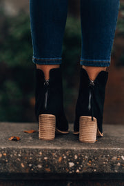 Juliette Booties (Black)