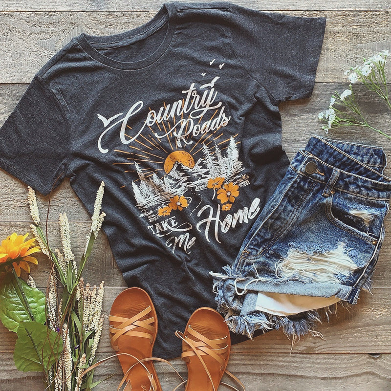 Country Roads Top