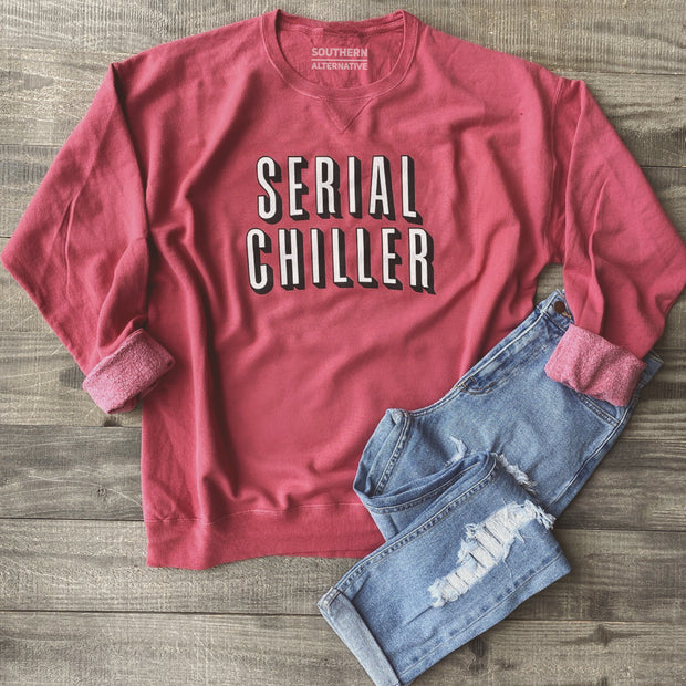 Serial Chiller Sweater (Vintage Red)