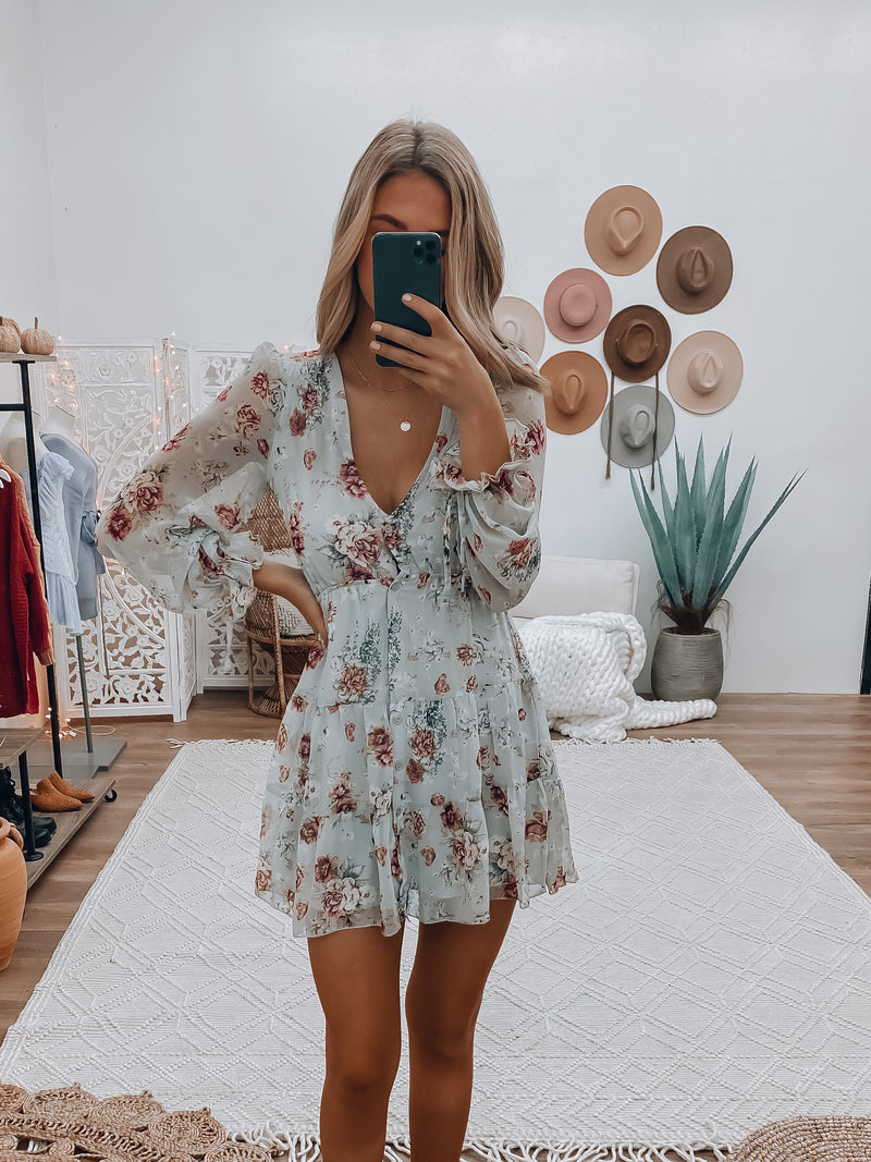 Maizy Floral Mini Dress