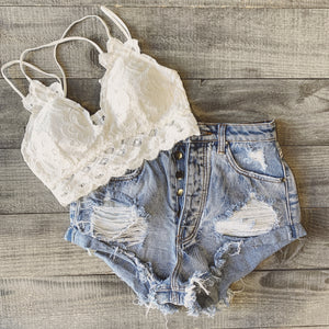 The Wild Heart Bralette (White)