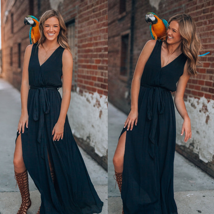 The Madrid Maxi (Black)