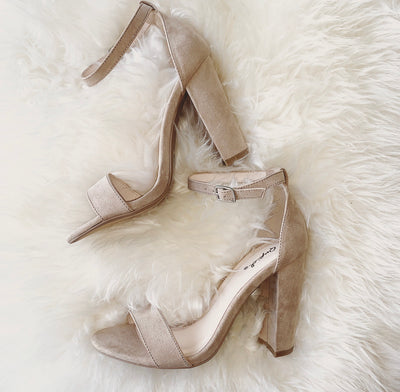 Classic Heels (Taupe)