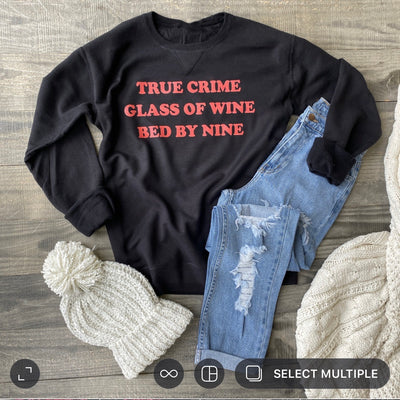 True Crime Sweater (Vintage Black)