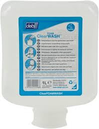 DEB Clear foam wash 6 x1 L