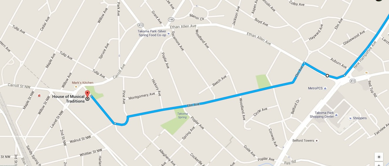 Route to get around on Sunday, June 12th, 2016.