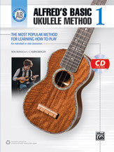 Alfred's Basic Ukulele Method 1
