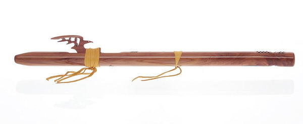 "Red Tail Hawk ""G"" Aromatic Cedar Flute by High Spirits"