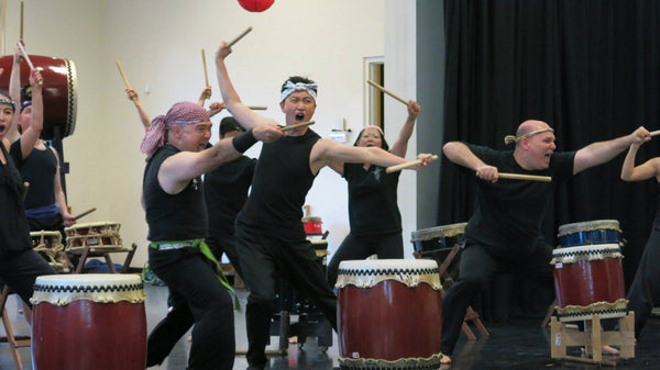 Introductory Taiko Workshops with Mark H Rooney