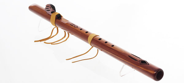 "Golden Eagle ""F#,"" Aromatic Cedar Flute by High Spirits"
