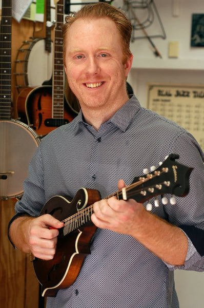 Thurs. August 13 - ONLINE Mandolin Workshop: Level Up Your Tunes w/Justin Heath