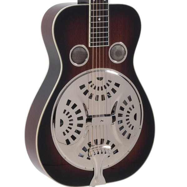 Recording King RR-60-VS Professional Squareneck Resonator Guitar w/Hard Case