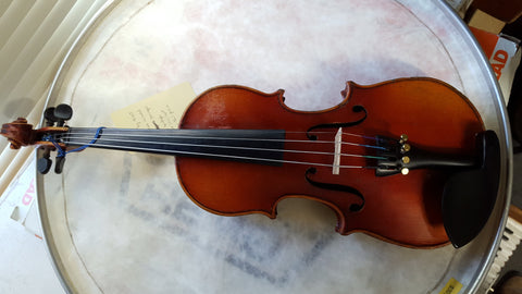 "1/4 German Violin - Strad Copy ""195"" *used*"