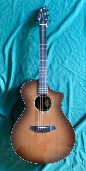 Breedlove Limited Run Premier Concert Walnut Burst CE Cedar/Rosewood Acoustic-Electric Guitar