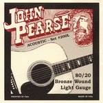John Pearse 80/20 Bronze Wound Light Gauge Strings (#200L)
