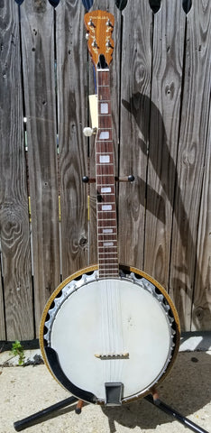 Madeira 5-String Resonator Banjo (used)