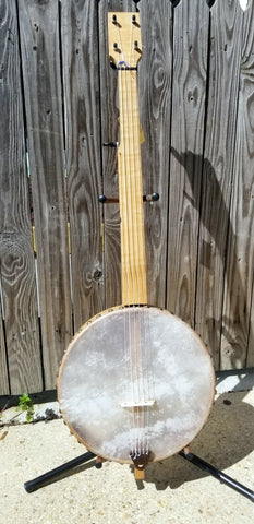 Prust Tackhead Fretless 5-string Banjo (used)
