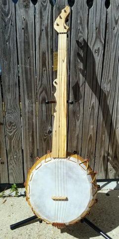 Bob Thornburg Fretless 5-string Gourd Banjo (used)