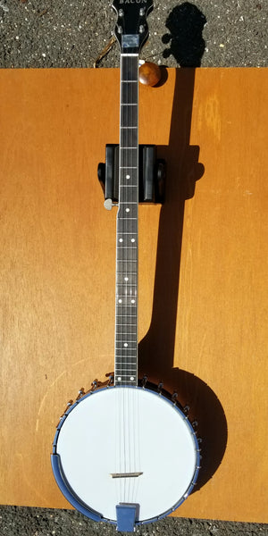 "Bacon Long Neck ""Folk Model"" 5-string open-back Banjo (used)"