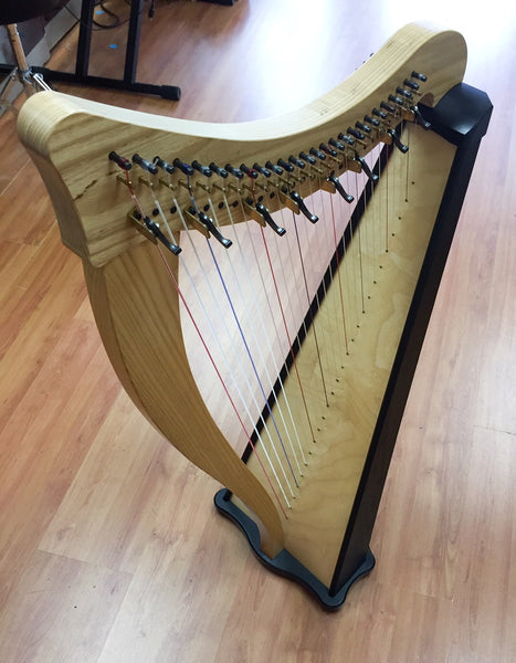Dusty Strings Ravenna 26 Harp w/Partial Levers, Stand, Case (used)