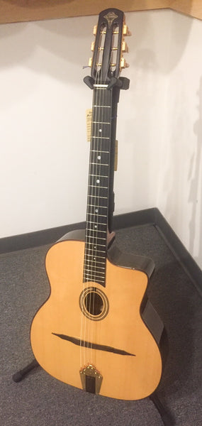 Altamira M01 Natural Gypsy Jazz Guitar