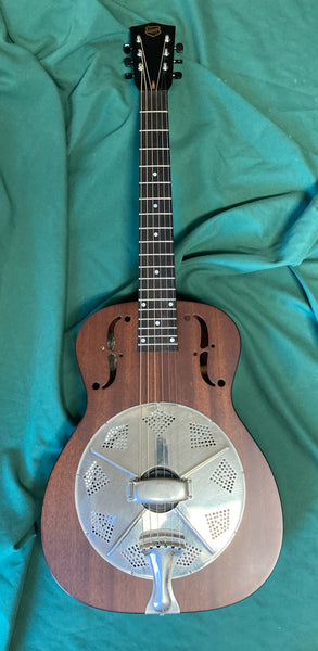 National Resophonic M14 Mahogany Resonator Guitar (used)