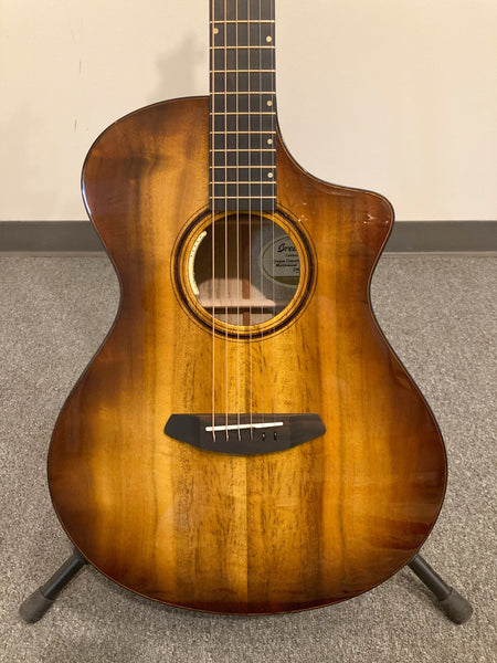 Breedlove Oregon Concert Tiger's Eye CE Acoustic-Electric Guitar