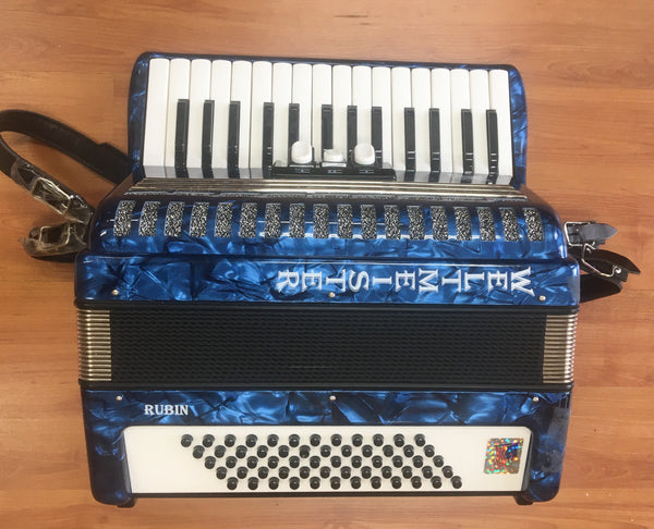 Weltmeister Rubin 60-Bass Piano Accordion (used)