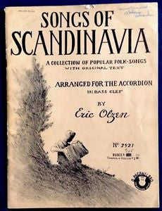 Songs of Scandinavia for Accordion