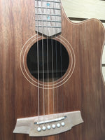 Cole Clark CCFL2EC-BLBL Australian Blackwood Acoustic-Electric Guitar