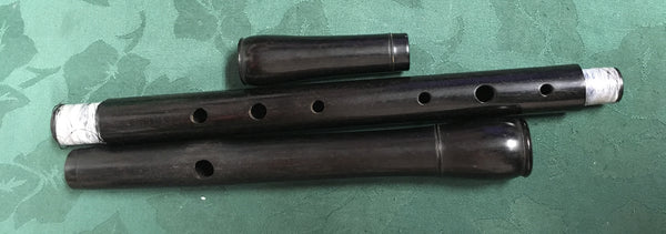 Blackwood Low D Irish Flute (used)