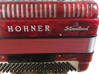 Hohner 30MG 120-bass Accordion, Red (used)