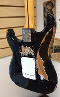 Fender Custom Shop 1956 Stratocaster Relic Electric Guitar, Aged Black (used)