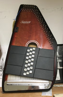 Oscar Schmidt OS21C 21-Chord Autoharp w/built in tuner (used)