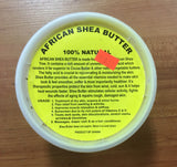 Shea Butter for drum heads