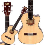 Kala Solid Spruce Top KA-STGE-C acoustic / electric Tenor Cutaway Ukulele