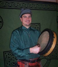 May 7, 21, June 3 - Bodhran Group Classes with Scott Morrison