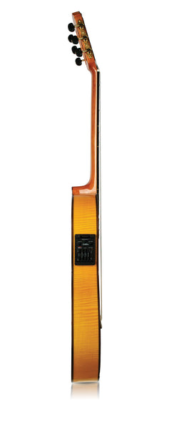 Cordoba left-handed España Series 55FCE (Honey Amber) acoustic / electric Classical Guitar