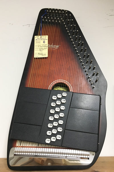 Oscar Schmidt 21-chord Autoharp with case (used)