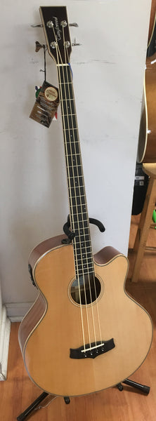Tanglewood Winterleaf TW8-AB Acoustic-Electric Bass Guitar
