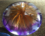 "10"" Amethyst Gold Burst Ajna Metal Tongue Drum"