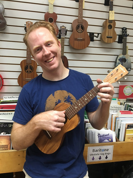 Thursdays beg. Sept 19: Ukulele For Beginners w/Justin Heath
