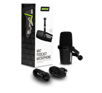 Shure MV7 Podcast Microphone w/USB